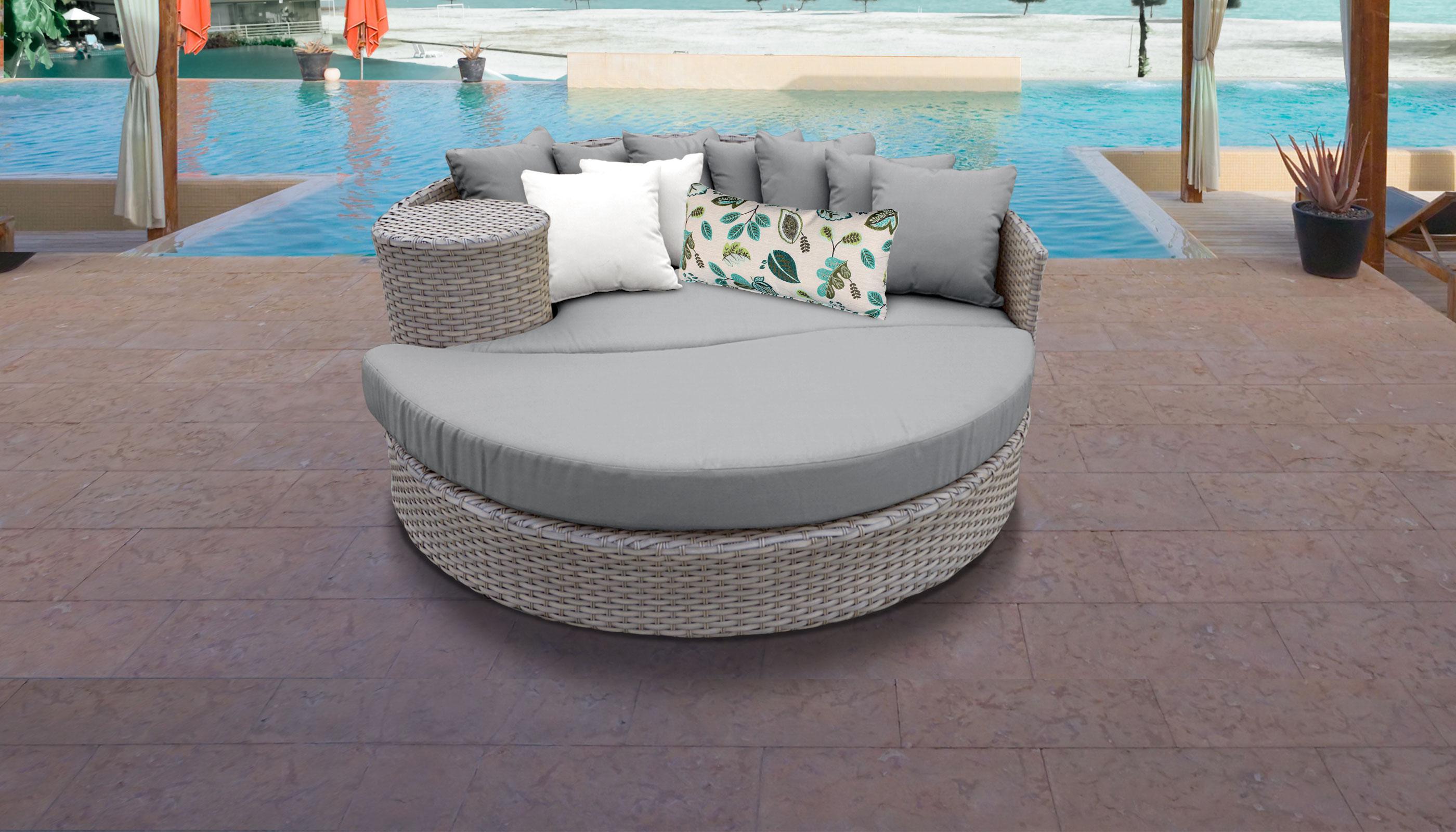 Awe Inspiring Florence Circular Sun Bed Outdoor Wicker Patio Furniture Download Free Architecture Designs Embacsunscenecom