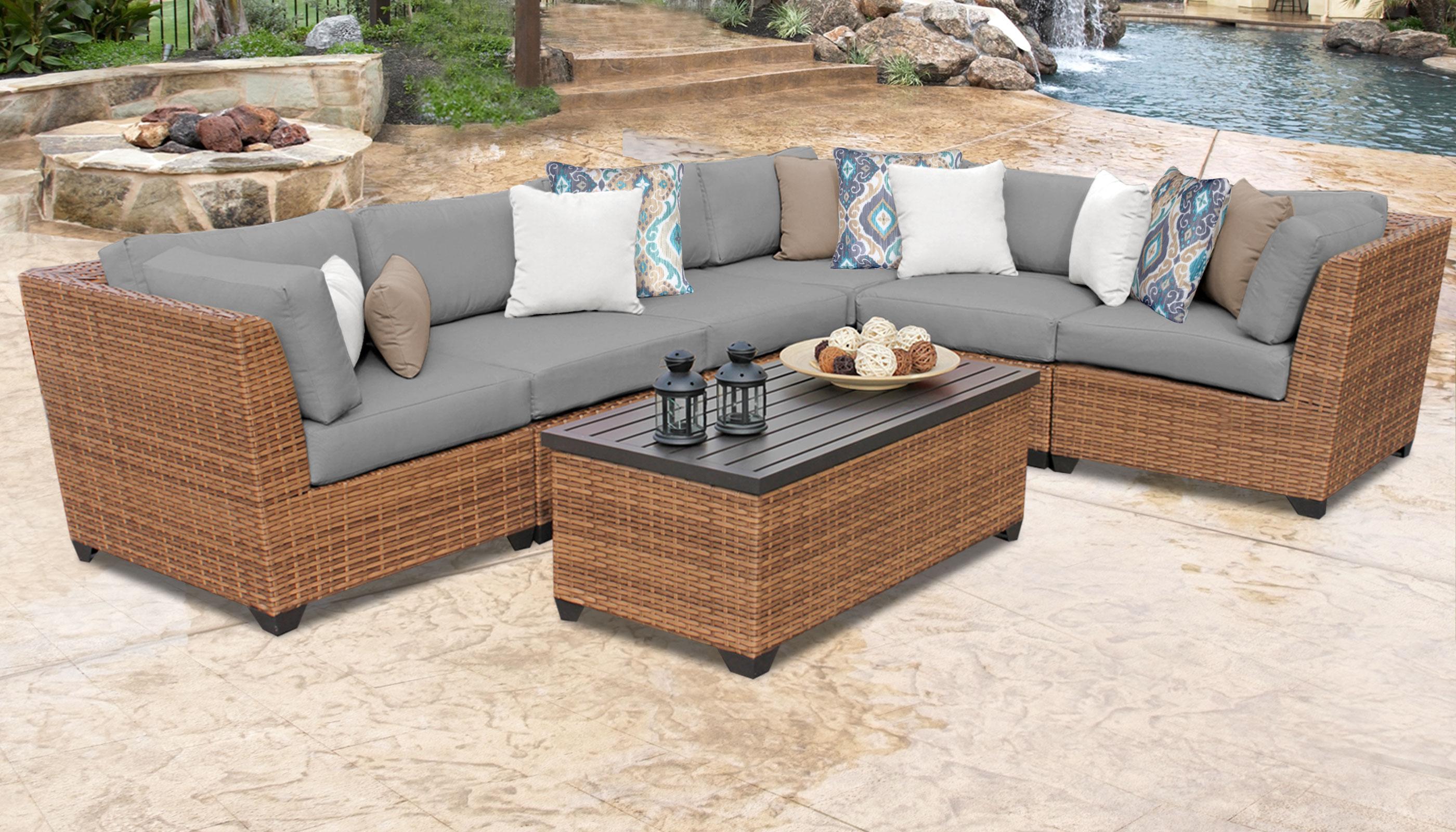 Laguna 7 Piece Outdoor Wicker Patio Furniture Set 07b