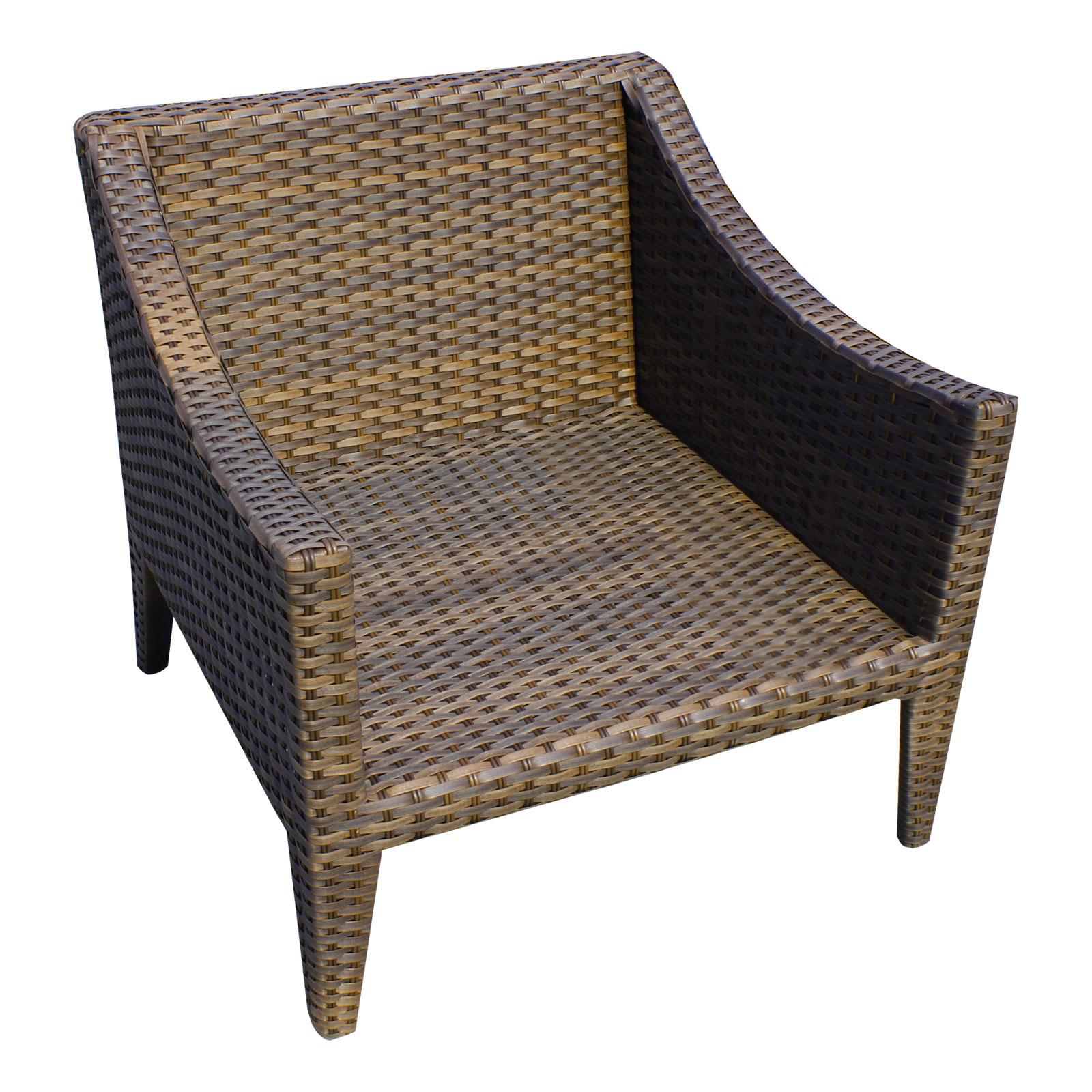 Manhattan 3 Piece Outdoor Wicker Patio Furniture Set 03b