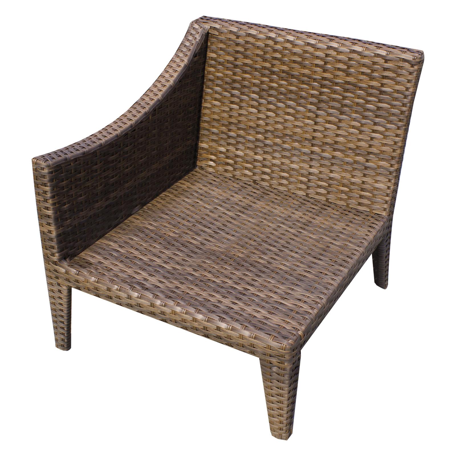 Manhattan 2 Piece Outdoor Wicker Patio Furniture Set 02a -