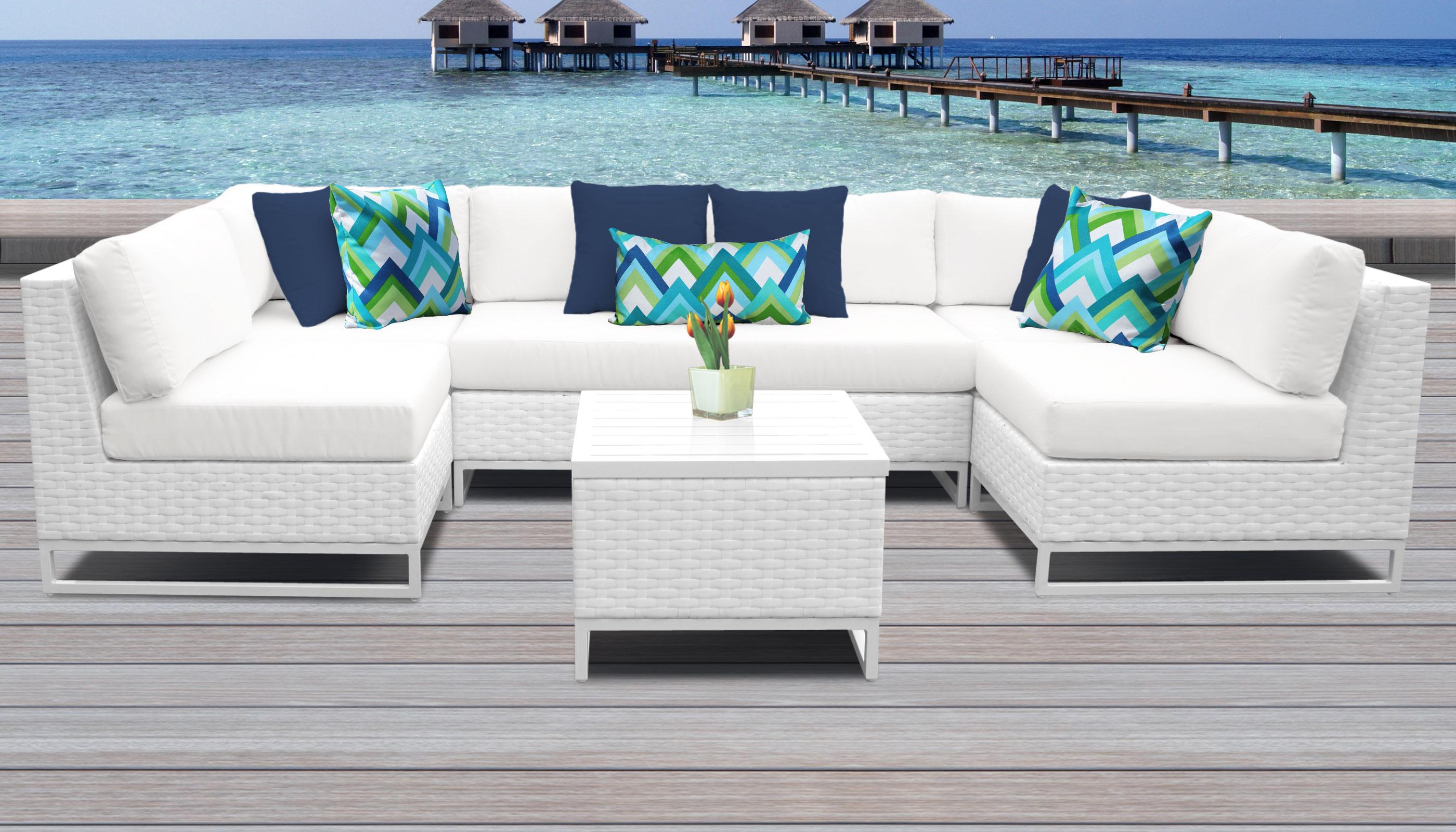 Outdoor Wicker Patio Furniture Set 07d