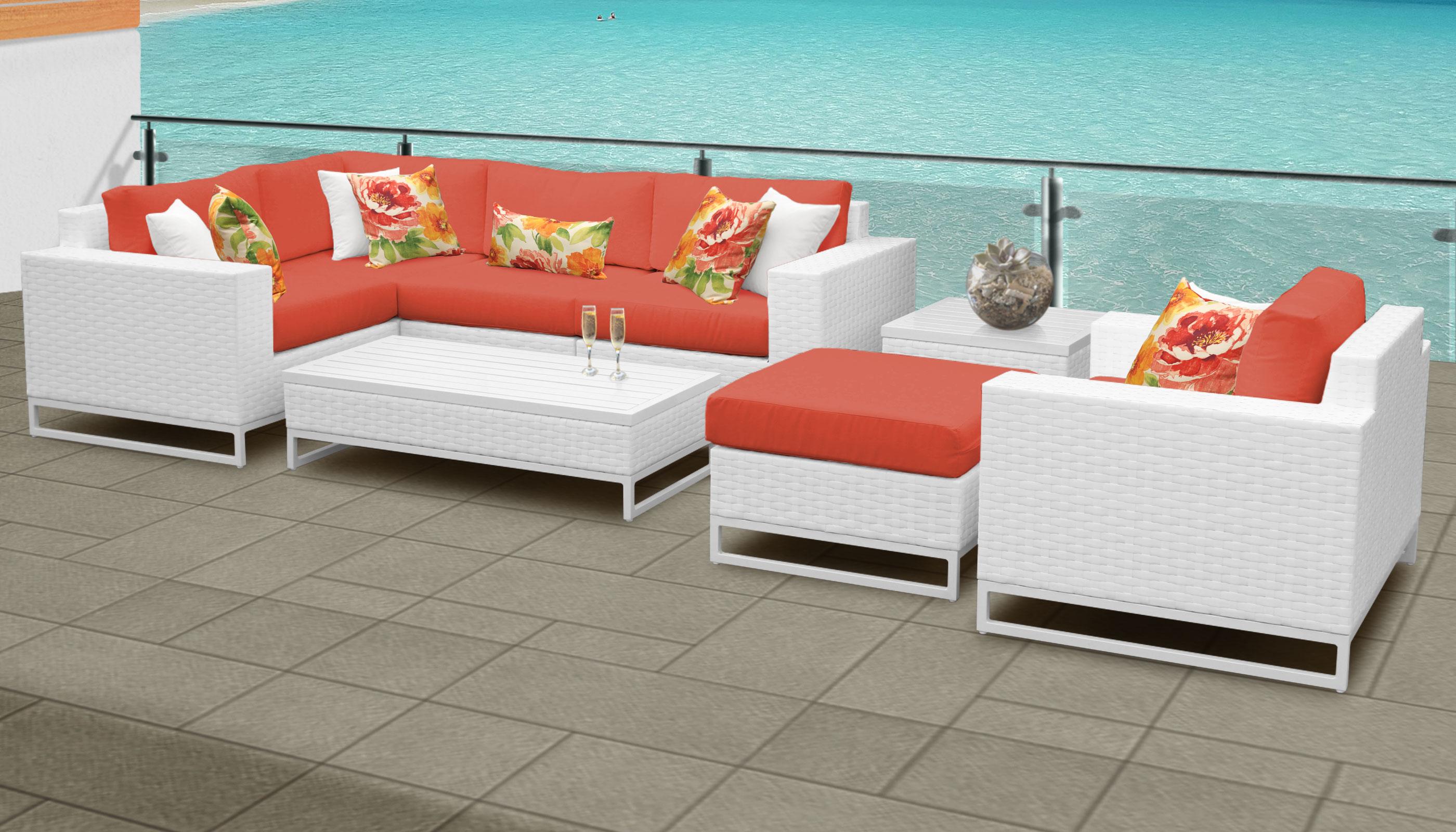 Outdoor Wicker Patio Furniture Set 08g