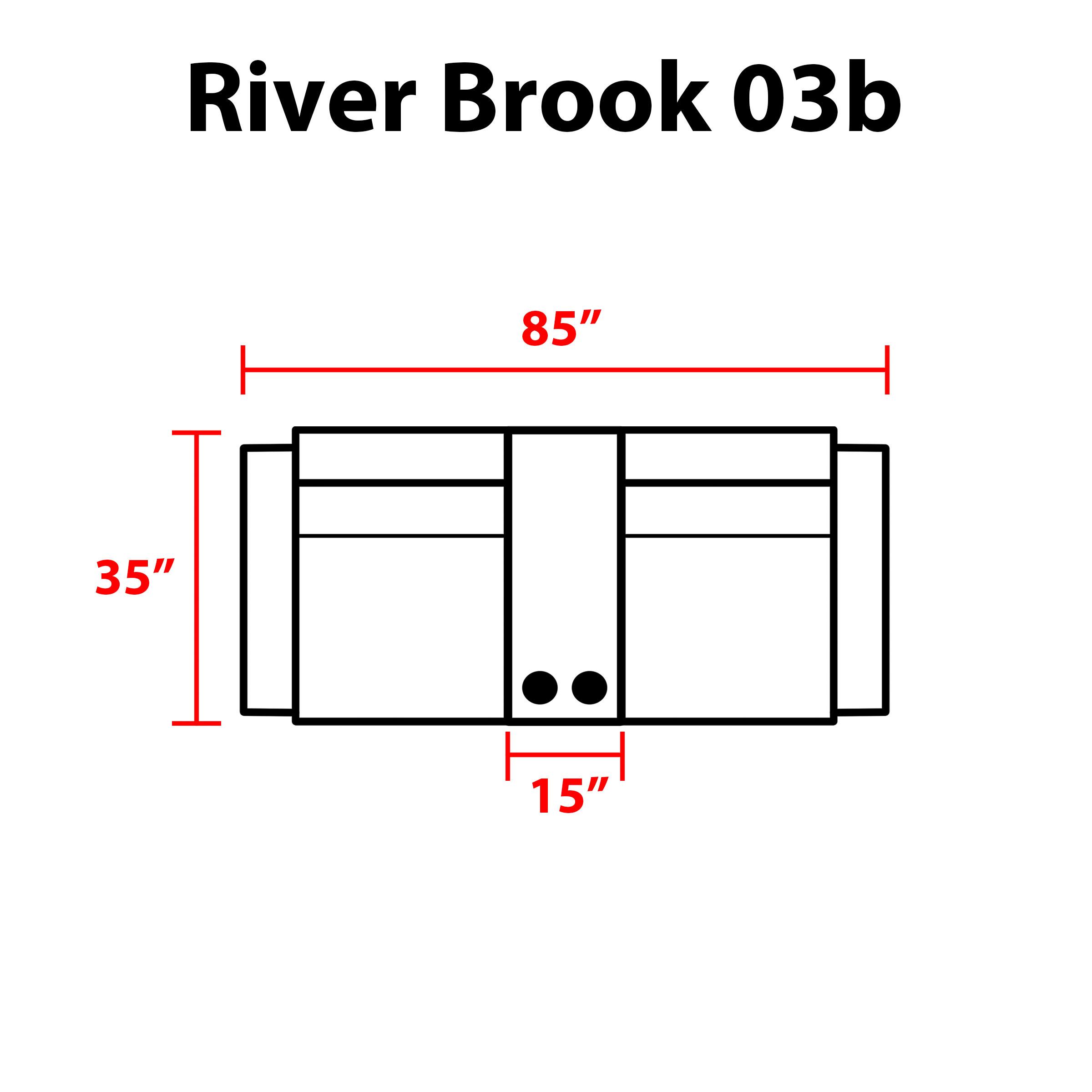 River Brook 3 Piece Outdoor Wicker Patio Furniture Set 03b - TK Classics