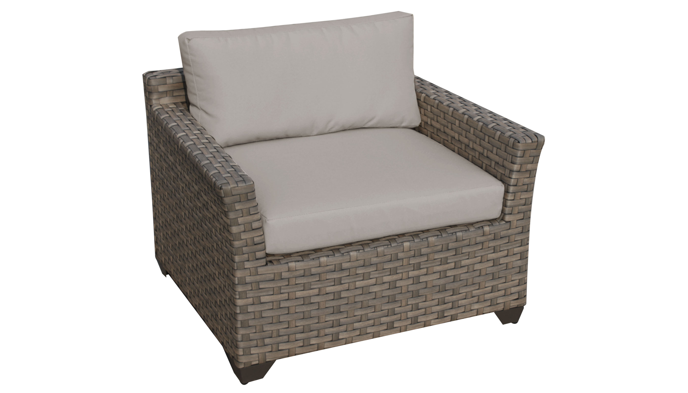 Monterey 7 Piece Outdoor Wicker Patio Furniture Set 07c -