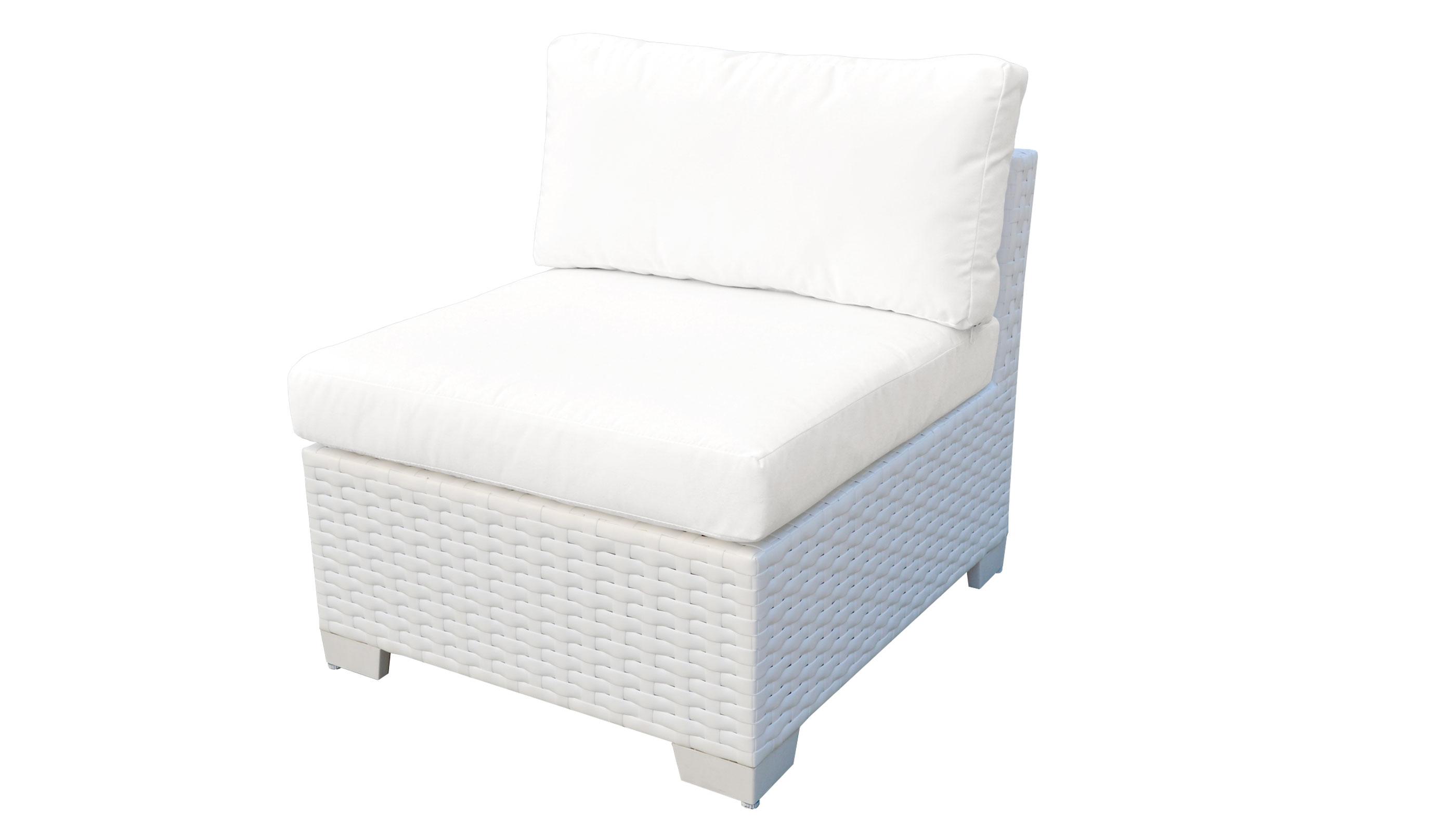 Monaco Armless Sofa -