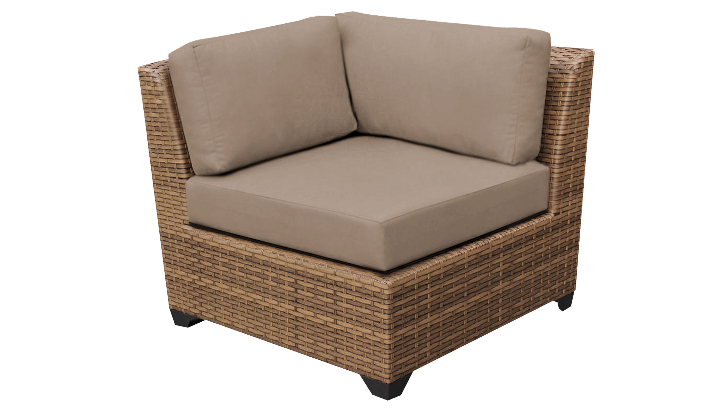 Brilliant Laguna 4 Piece Outdoor Wicker Patio Furniture Set 04A Theyellowbook Wood Chair Design Ideas Theyellowbookinfo