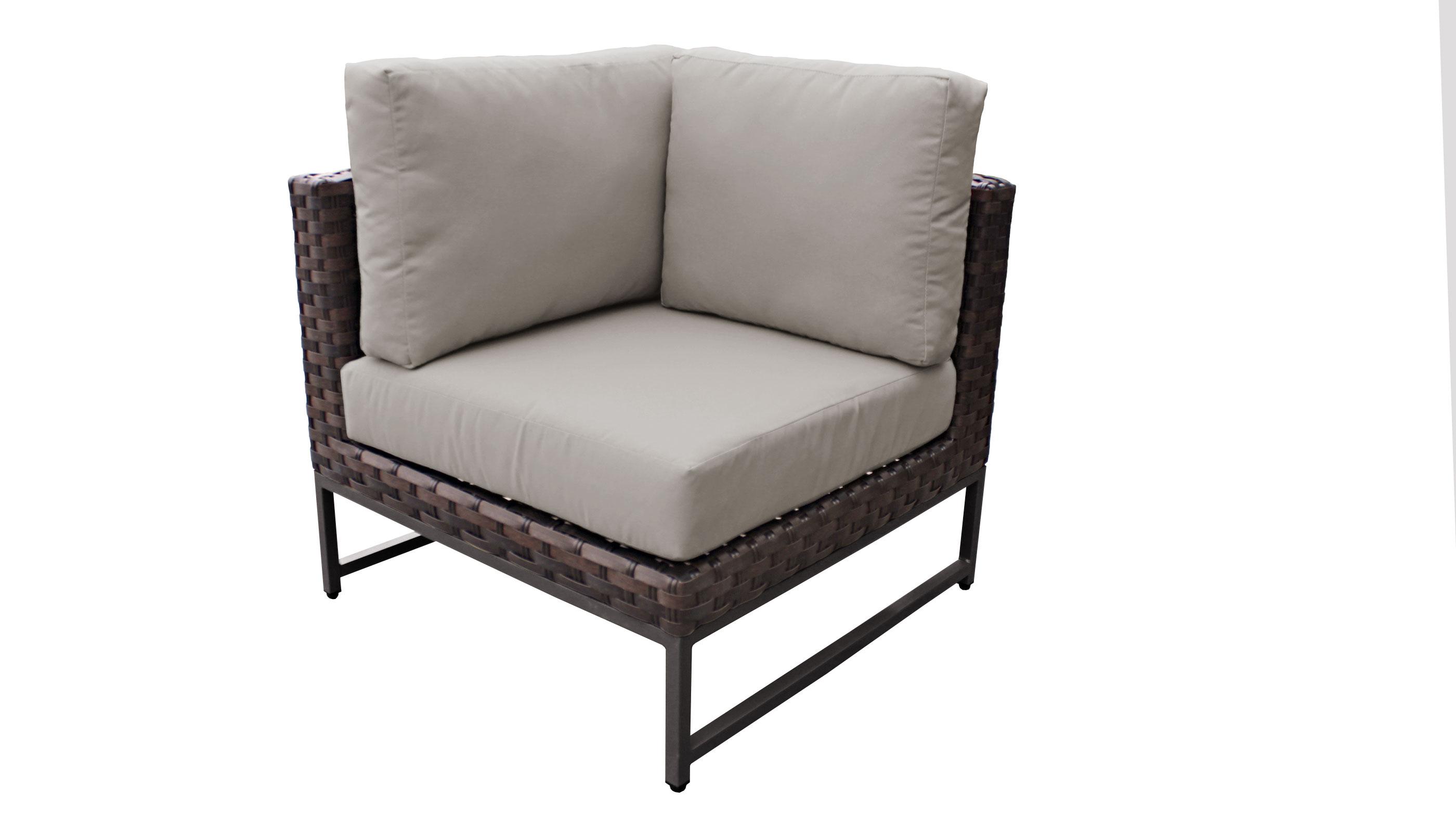Barcelona 2 Piece Outdoor Wicker Patio Furniture Set 02a - TK Classics