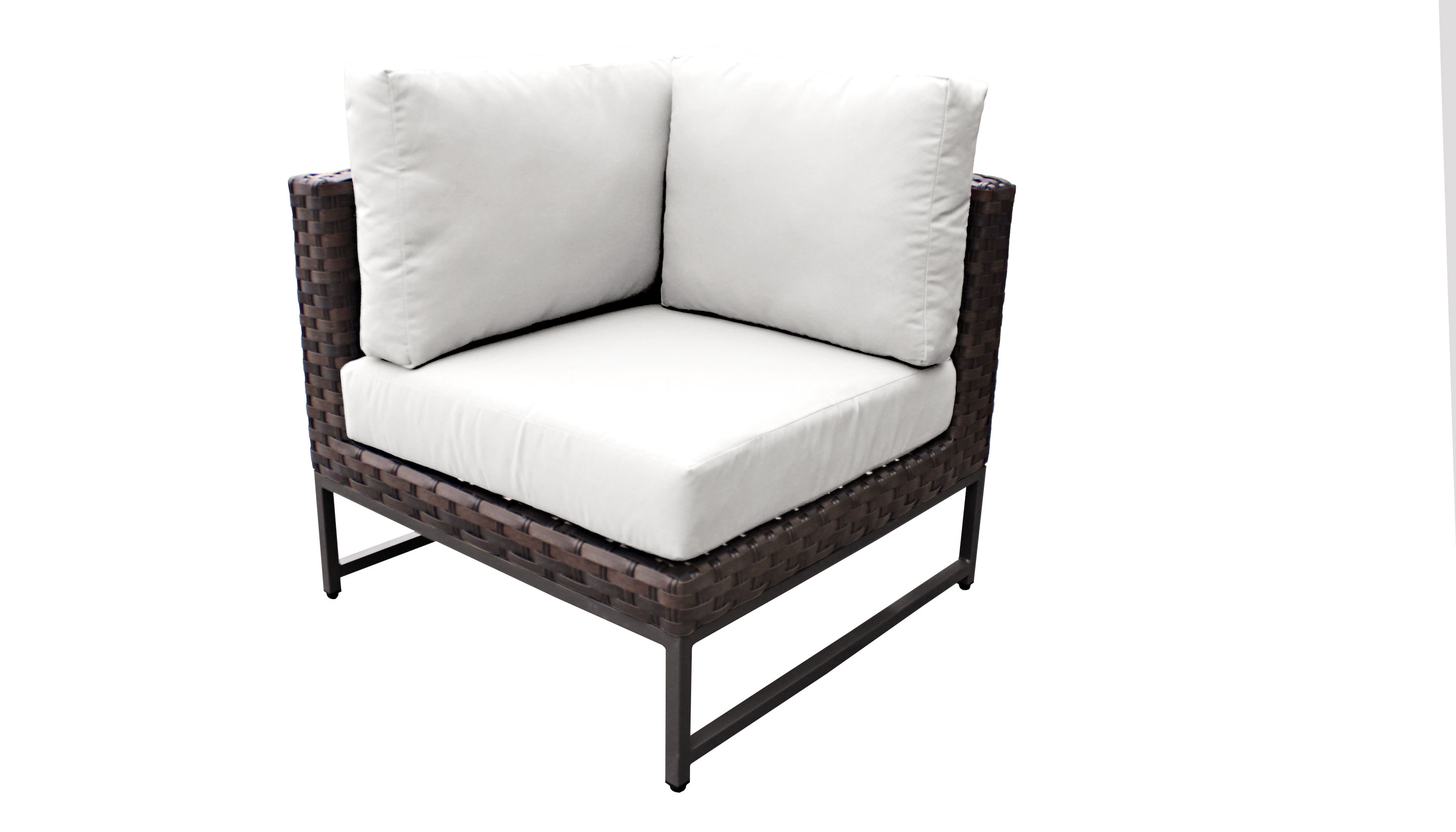 Barcelona 3 Piece Outdoor Wicker Patio Furniture Set 03c - TK Classics