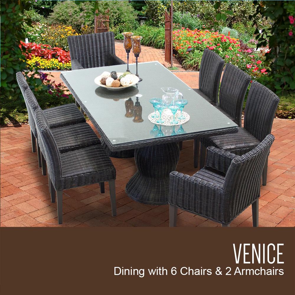 Tk Classics Venice Rectangular Outdoor Patio Dining