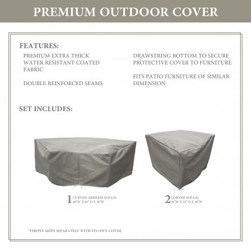 BARBADOS-04e Protective Cover Set - TK Classics