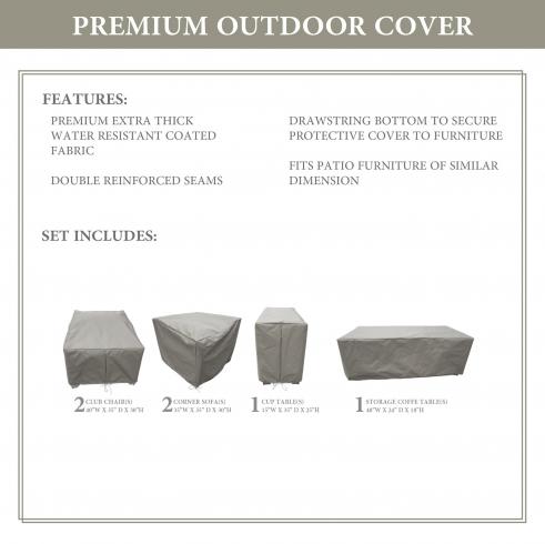 BARBADOS-06d Protective Cover Set - TK Classics