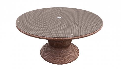 Laguna 60 Inch Outdoor Patio Dining Table - TK Classics