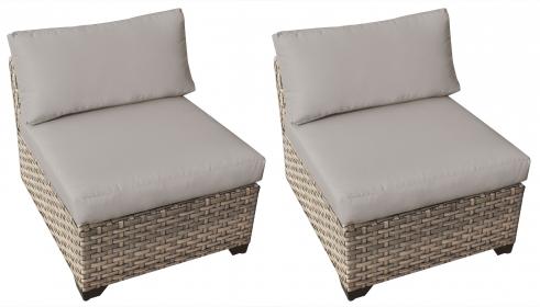 Monterey Armless Sofa 2 Per Box - TK Classics