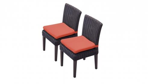 2 Venice Armless Dining Chairs - TK Classics