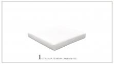 4 inch Cushion for Ottoman - TK Classics