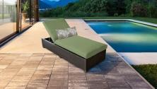 Barbados Chaise Outdoor Wicker Patio Furniture - TK Classics