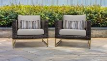 Amalfi 2 Piece Outdoor Wicker Patio Furniture Set 02b - TK Classics