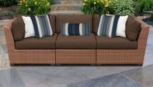 Laguna 3 Piece Outdoor Wicker Patio Furniture Set 03c - TK Classics