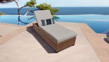 Laguna Chaise Outdoor Wicker Patio Furniture - TK Classics