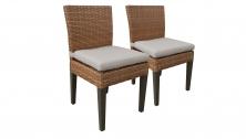 4 Laguna Dining Chairs Armless - TK Classics