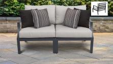 Lexington 2 Piece Outdoor Aluminum Patio Furniture Set 02a - TK Classics