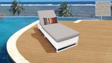 Miami Chaise Outdoor Wicker Patio Furniture - TK Classics