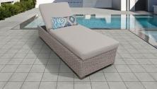 Monterey Chaise Outdoor Wicker Patio Furniture - TK Classics