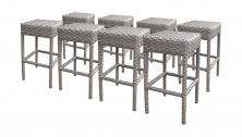 8 Monterey Backless Barstools - TK Classics