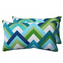 Resort Outdoor Throw Pillows Rectangle Set of 2 - TK Classics