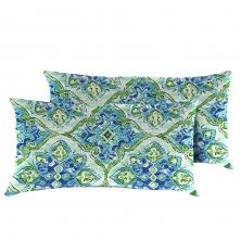 Splendor Outdoor Throw Pillows Rectangle Set of 2 - TK Classics