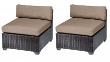 Belle Armless Sofa 2 Per Box - TK Classics