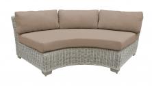 Coast Curved Armless Sofa - TK Classics