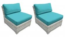 Fairmont Armless Sofa 2 Per Box - TK Classics