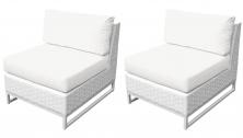 Miami Armless Sofa 2 Per Box - TK Classics