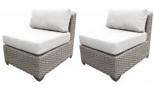 Florence Armless Sofa 2 Per Box - TK Classics