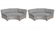 Florence Curved Armless Sofa 2 Per Box - TK Classics
