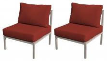 Carlisle Armless Sofa 2 Per Box - TK Classics