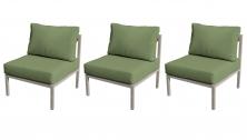 Carlisle Armless Sofa 3 Per Box - TK Classics