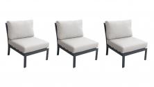 Lexington Armless Sofa 3 Per box - TK Classics