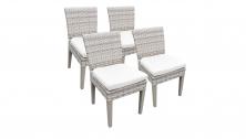 4 Fairmont Armless Dining Chairs - TK Classics