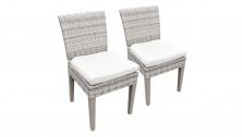 2 Fairmont Armless Dining Chairs - TK Classics