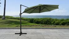 11' Octagonal Cantilever Umbrella - TK Classics